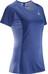 Salomon Agile hardloopshirt blauw